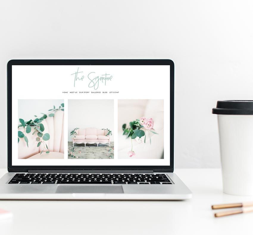 Semi-Custom Website Design   The Editor's Touch