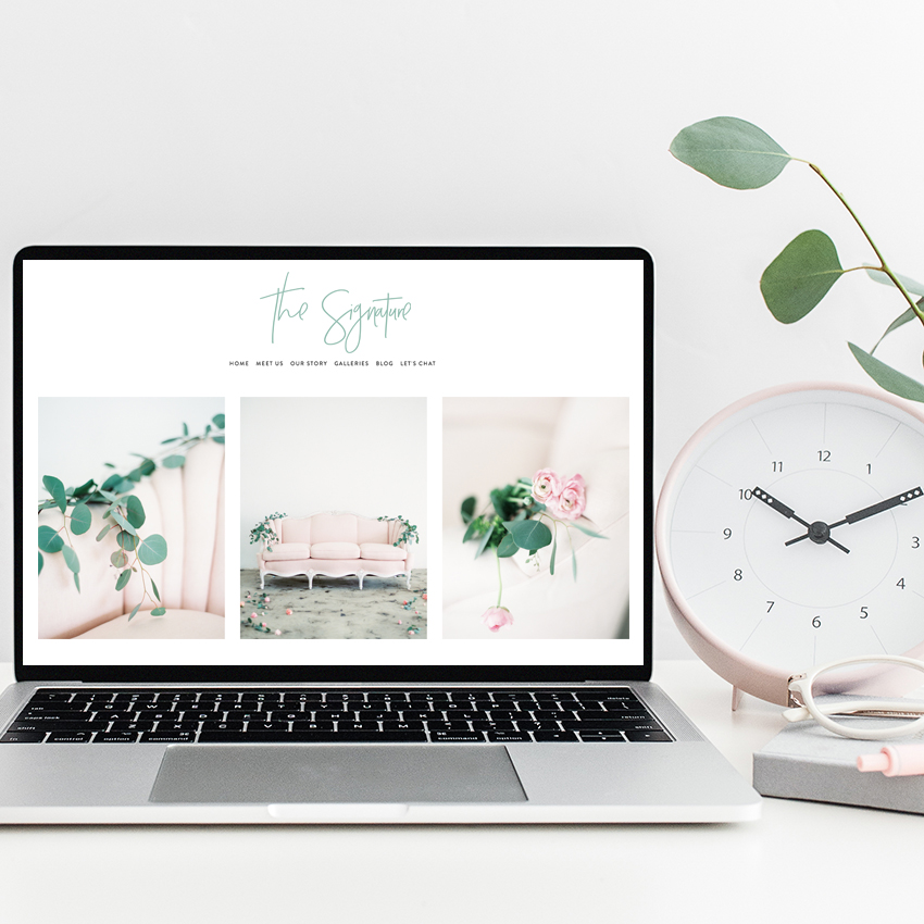 Templates for Squarespace Websites Designed by The Editor's Touch | Semi Custom Web Design for wedding professionals and creative business owners
