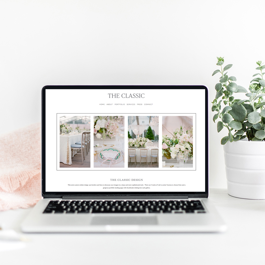 Squarespace Website Designer | Semi Custom Websites by The Editor's Touch
