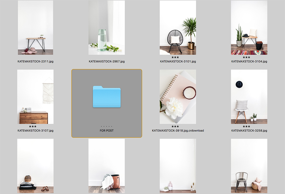 Image Selecting When You Blog | Blogging With Squarespace | The Editor's Touch