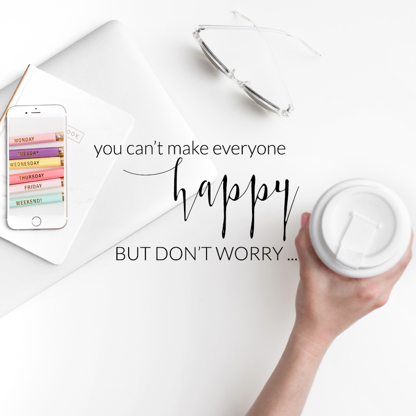 theeditorstouch.com | You Can't Make Everyone Happy in Business | The Editor's Touch | Wedding Industry Expert