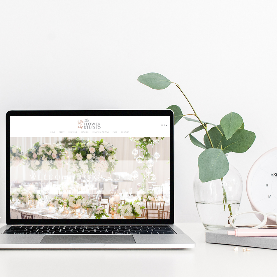 Website Designer for Florists | Squarespace Web Design for Wedding Professionals | The Editor's Touch