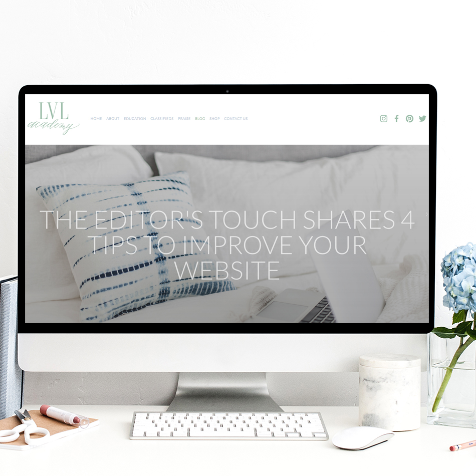 Tips To Improving Your Website   The Editor's Touch   Squarespace Web Designer for Wedding Professionals and Event Planners