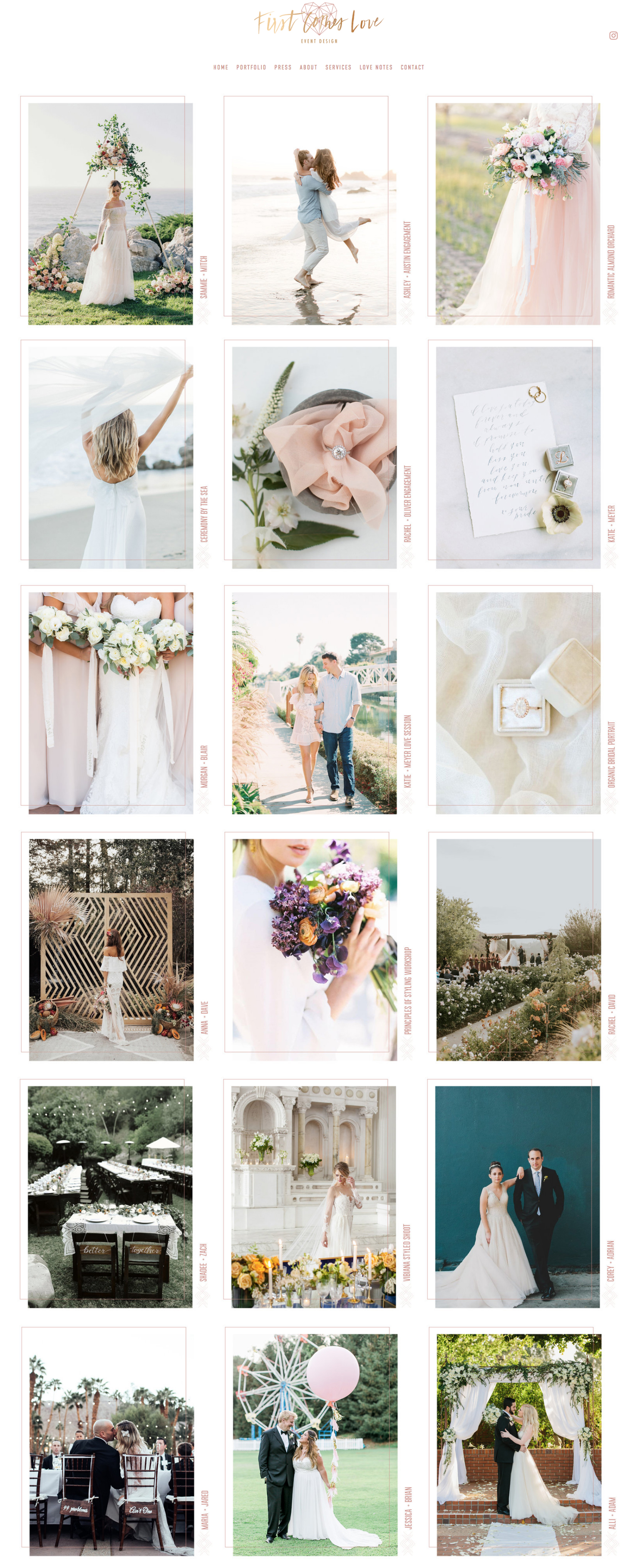 Website Designer For Wedding Professionals and Creatives | The Editor's Touch | Squarespace Web Design