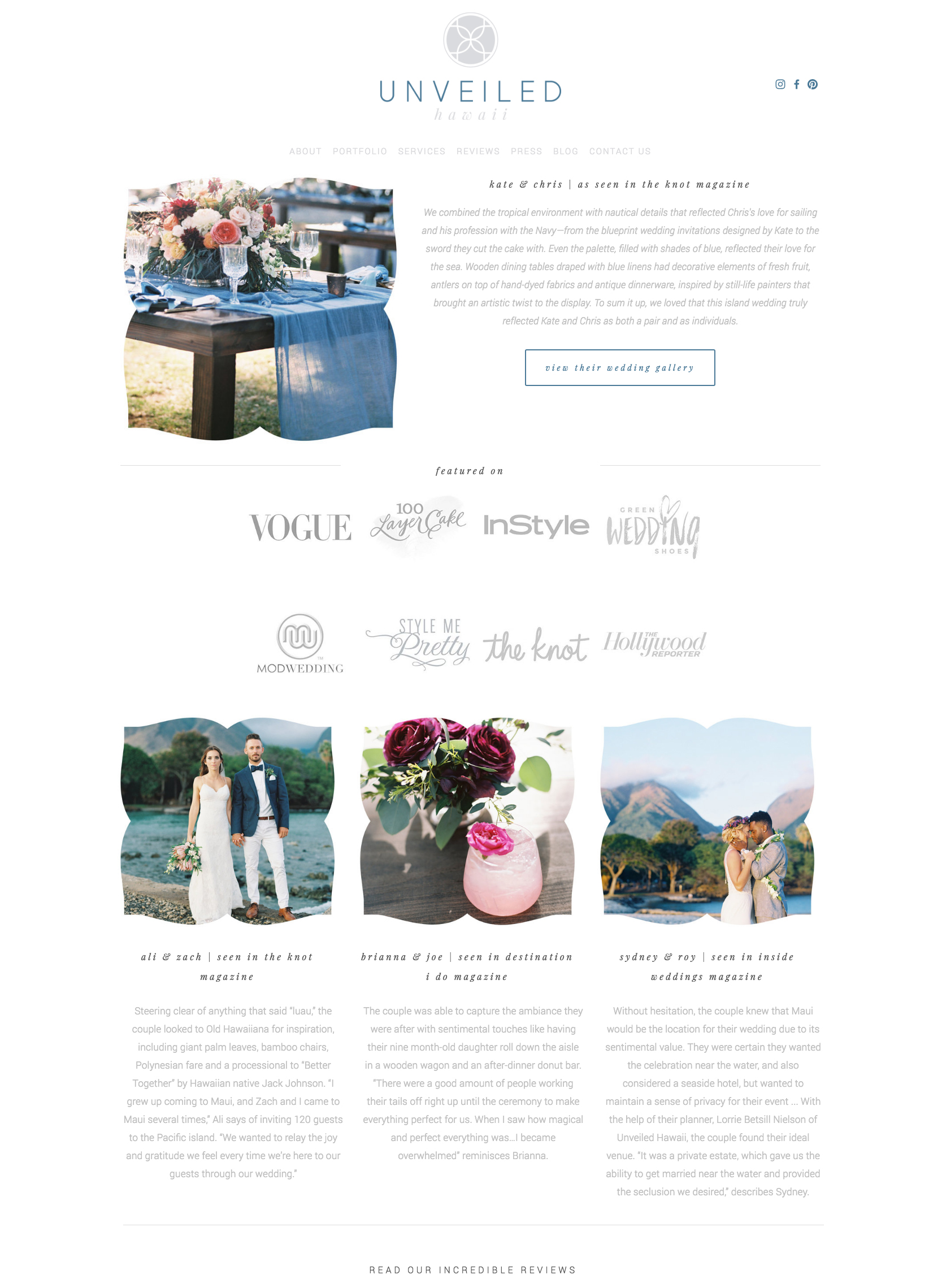 Squarespace Website Designer | The Editor's Touch | Web Design Hawaii