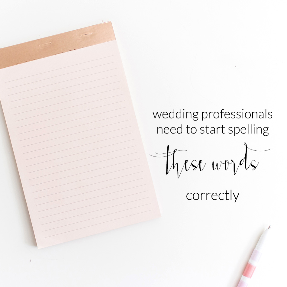 Wedding Industry Experts | Squarespace Website Designer | Business Blog The Editor's Touch