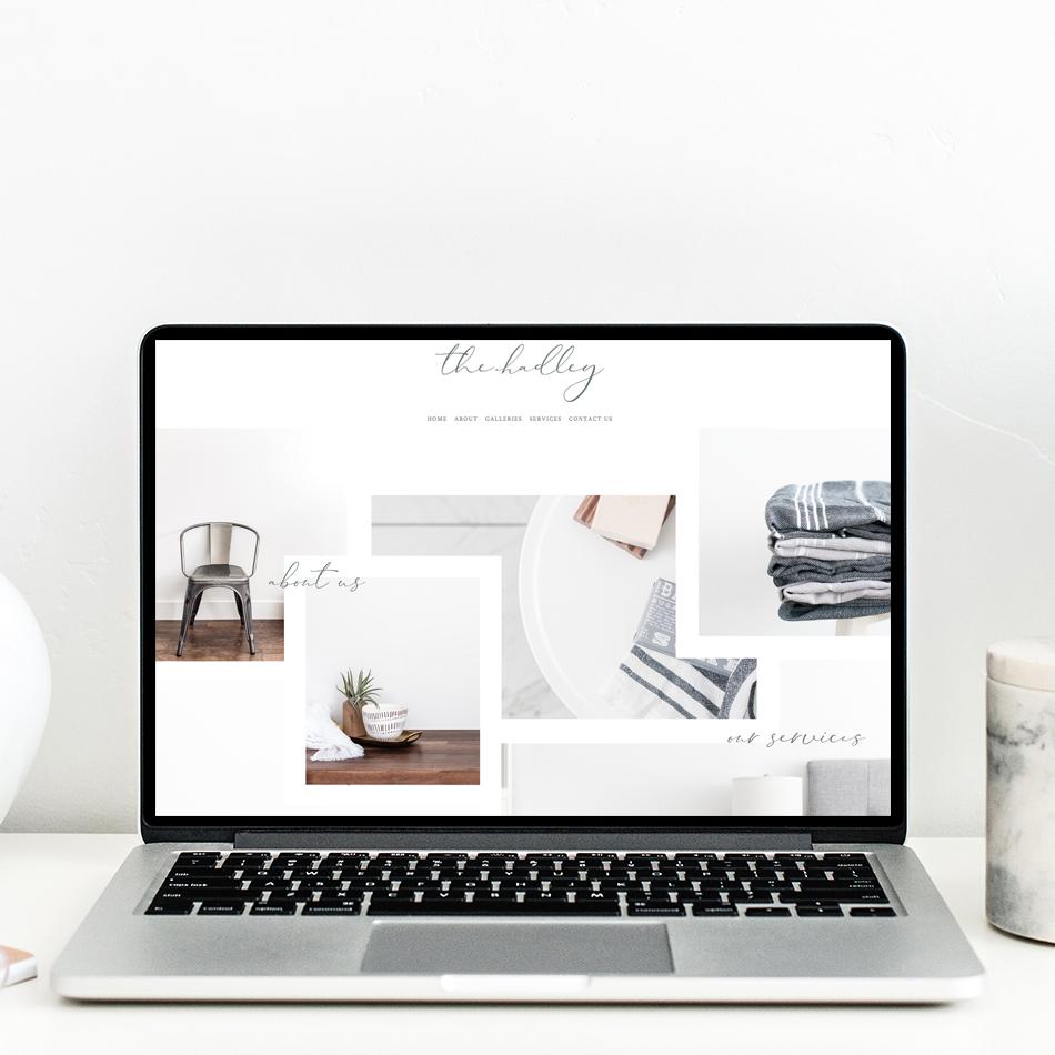 theeditorstouch.com | The Editor's Touch | Squarespace Website Designer | The Hadley Semi Custom Design