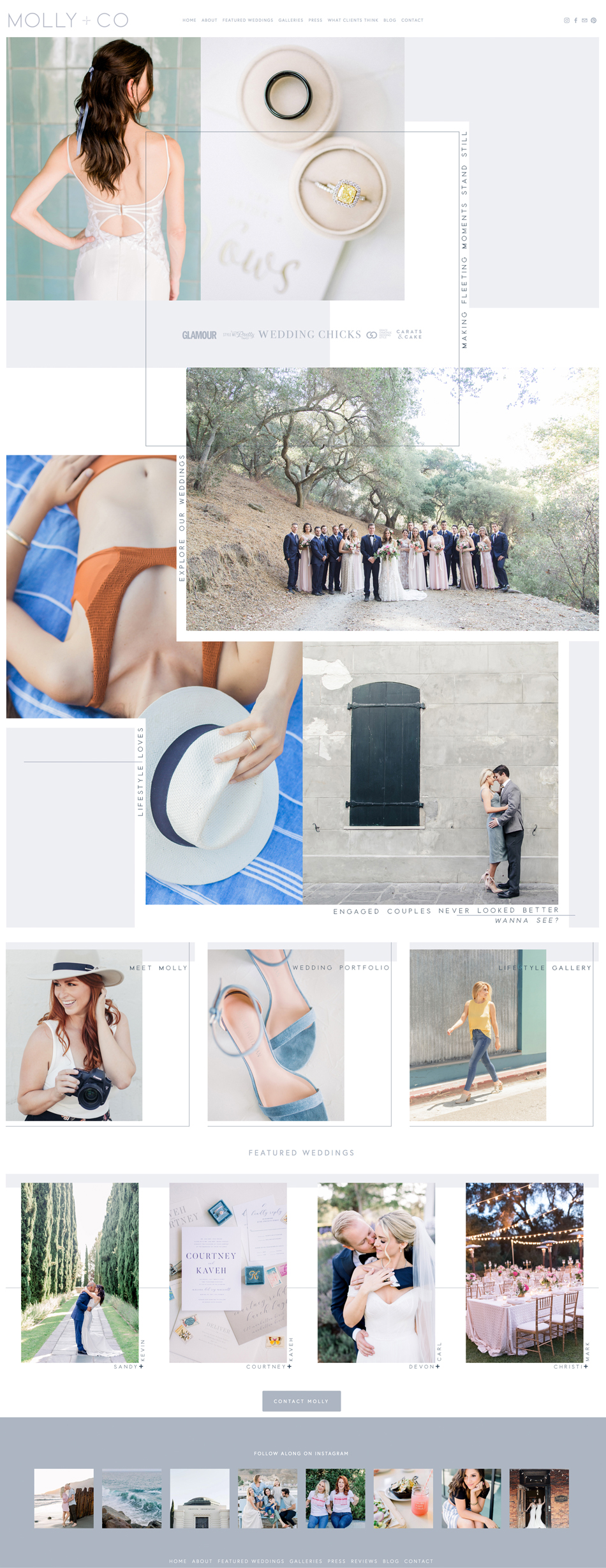 theeditorstouch.com | Squarespace Website Designer for Photographers and Wedding Industry Professionals | The Editor's Touch Web Design