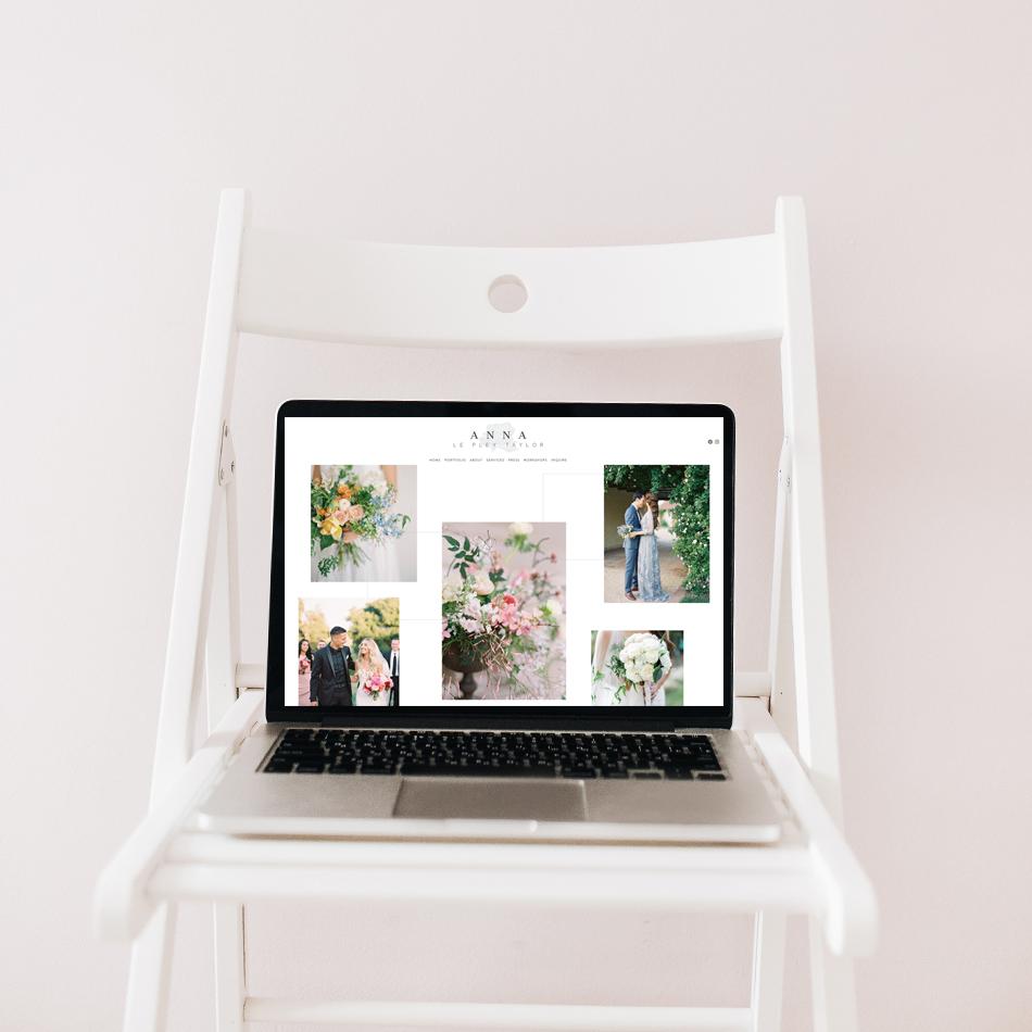 Website Design for Anna Le Pley Taylor Floral Design | The Editor's Touch Squarespace Web Designer