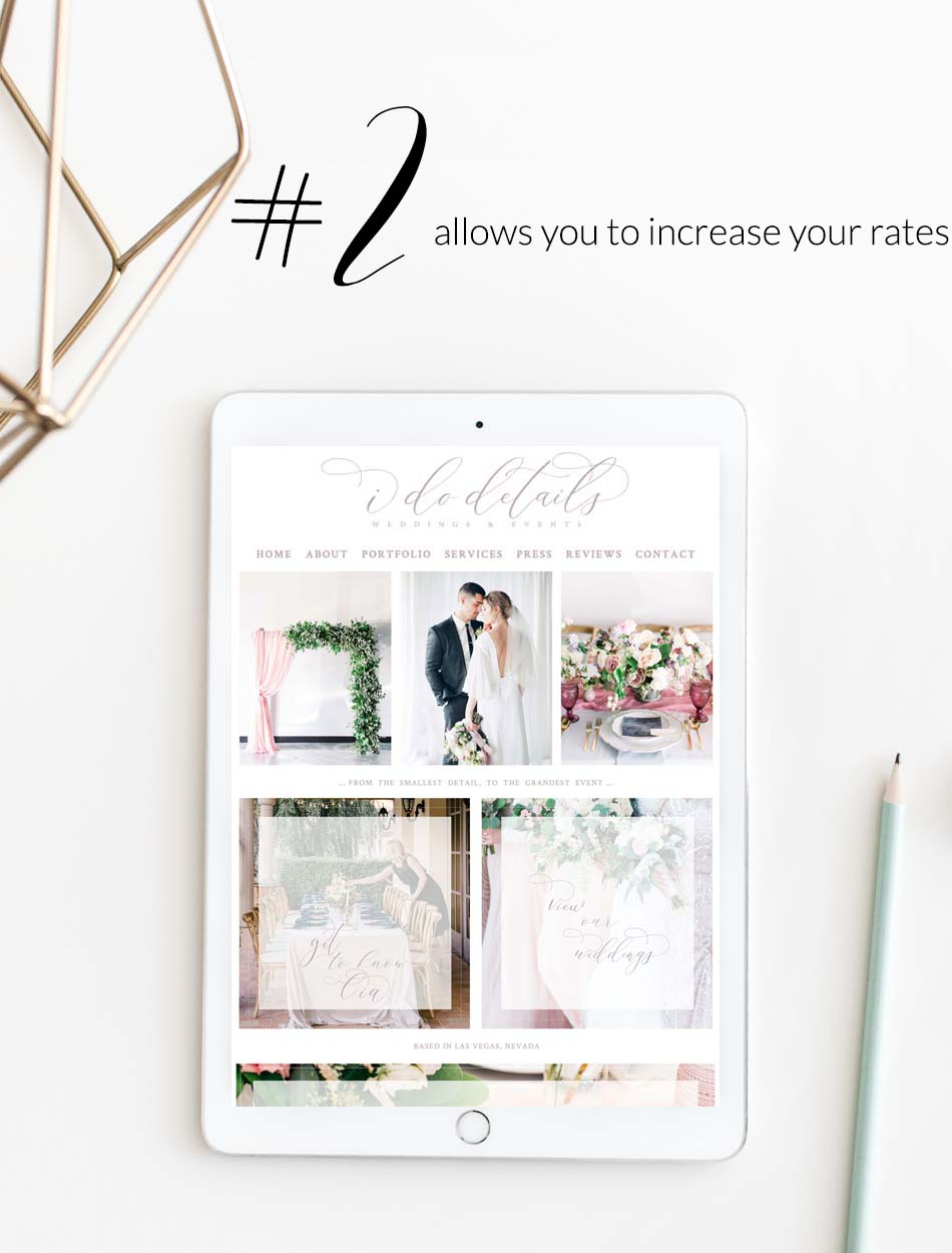 A Well Designed Website Creates Success For Your Company | Increase Your Service Rates | The Editor's Touch | Squarespace Web Designer