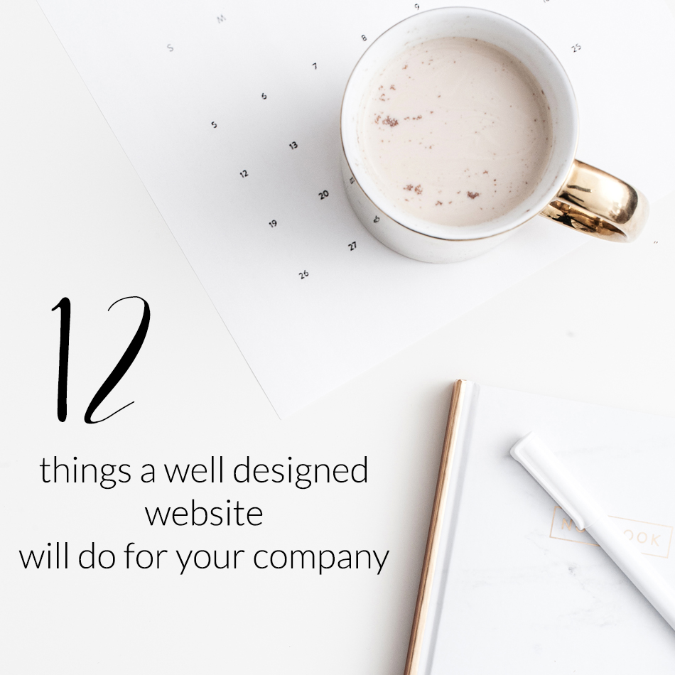A Well Designed Website Creates Success For Your Company | Lowering Your Bounce Rate | The Editor's Touch | Squarespace Web Designer