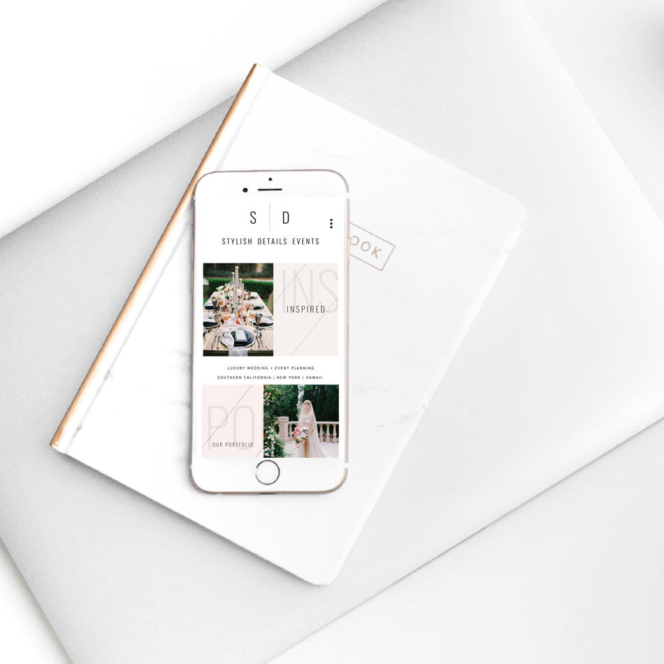 theeditorstouch.com | Luxury Squarespace Website Designer | The Editor's Touch | Wedding Planner Web Design | Stylish Details | Mobile Friendly Websites