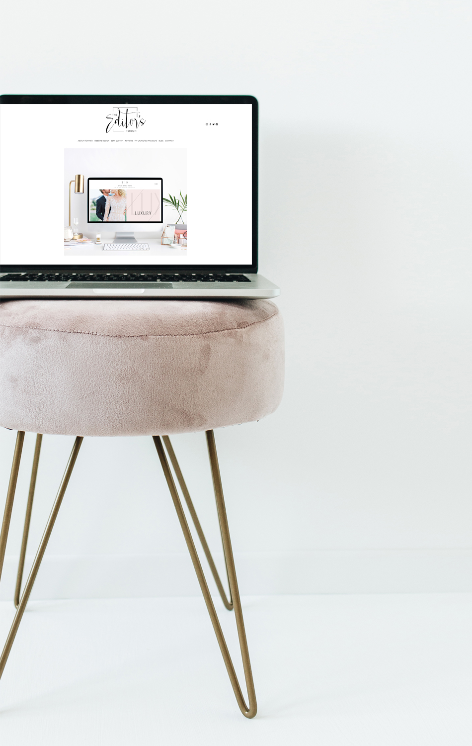 Squarespace Website Designer For Business Owners and Wedding Industry Professionals | The Editor's Touch | Blogger
