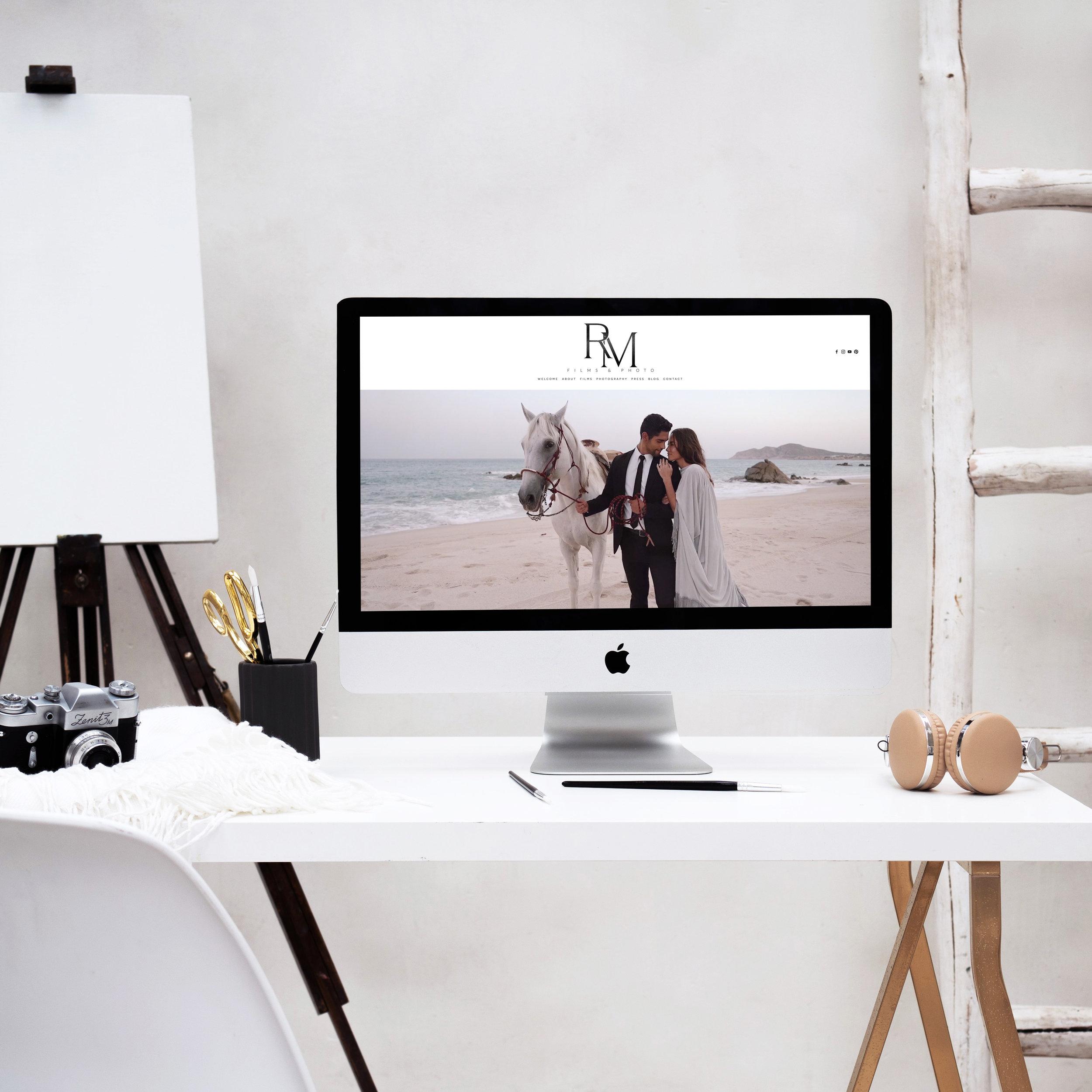 theeditorstouch.com | Squarespace Website Designer | Robert Michael Films Web Designer