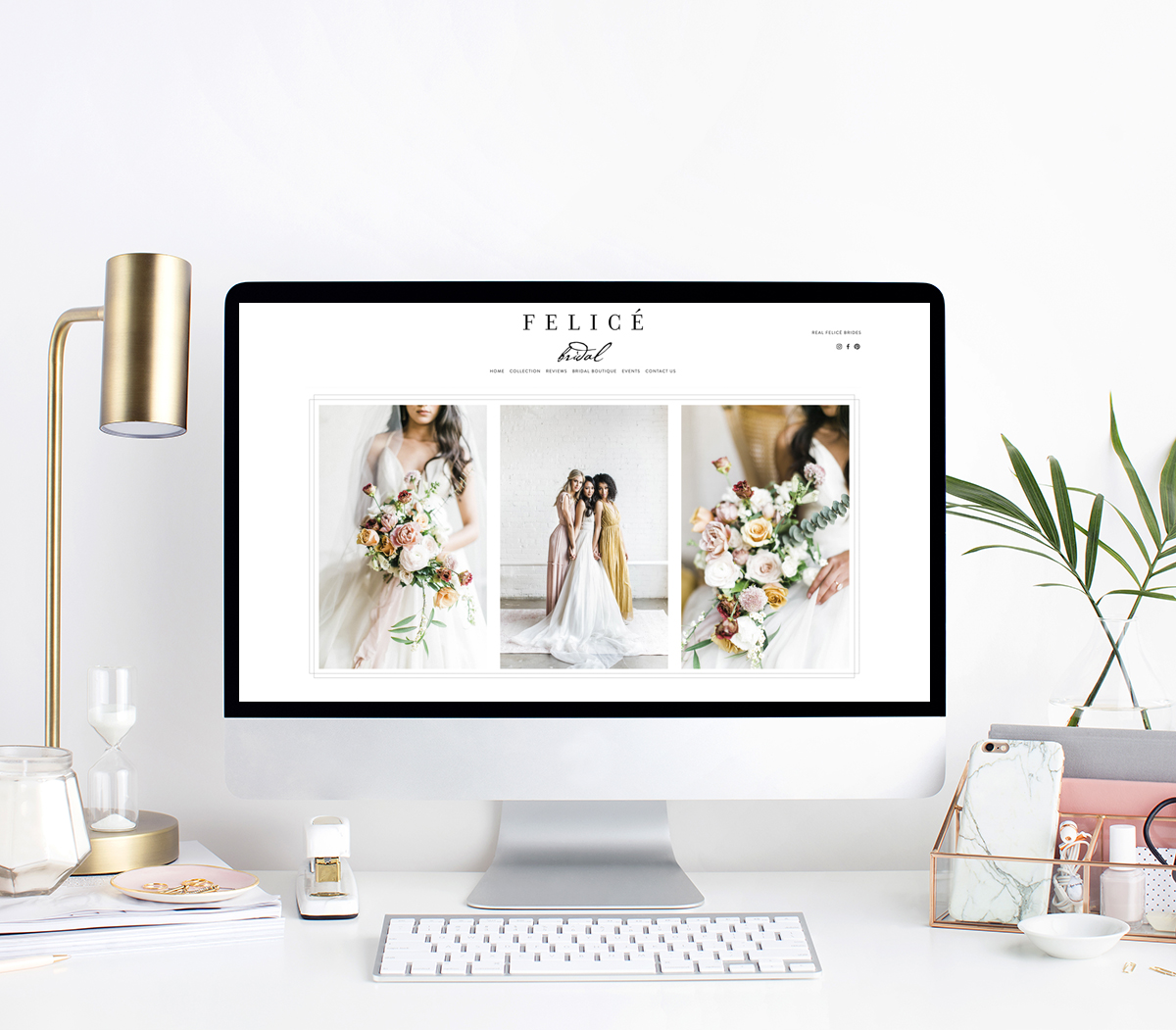 theeditorstouch.com | Squarespace Website Designer For Wedding Professionals | Luxury Web Design