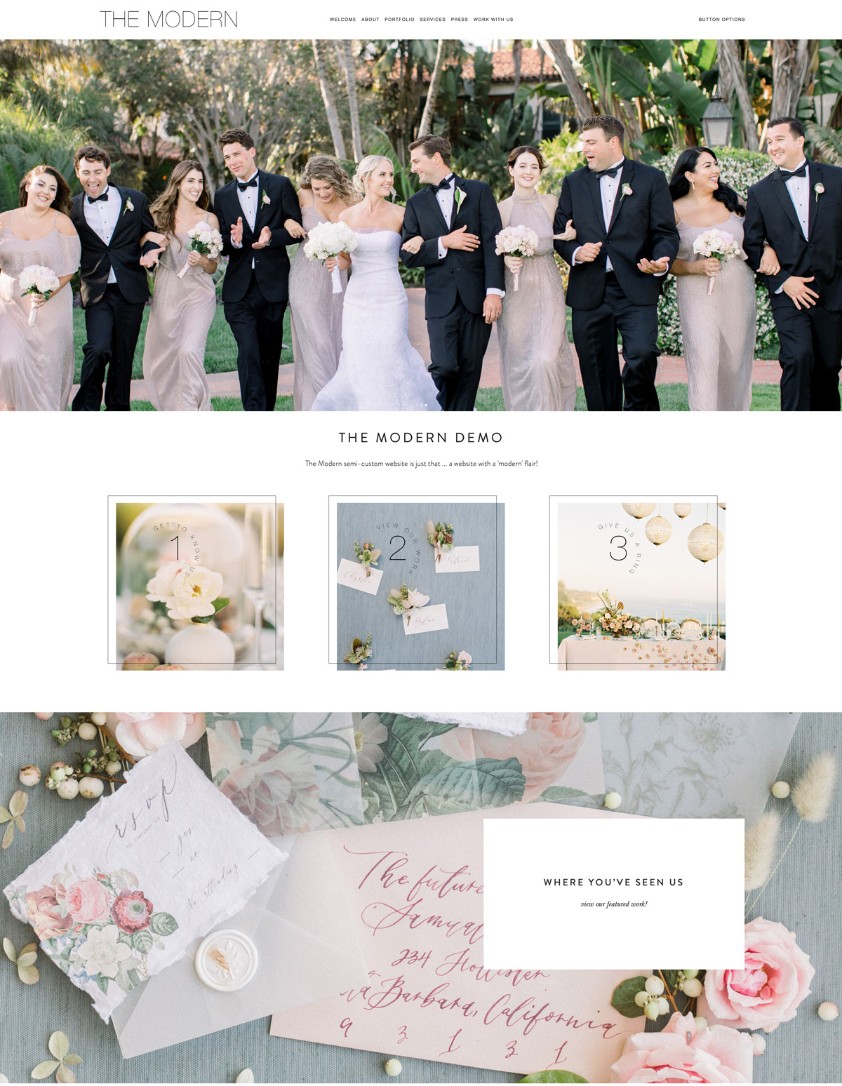 The Editor's Touch Website Designer for Wedding Industry Professionals | Squarespace Web Design Templates