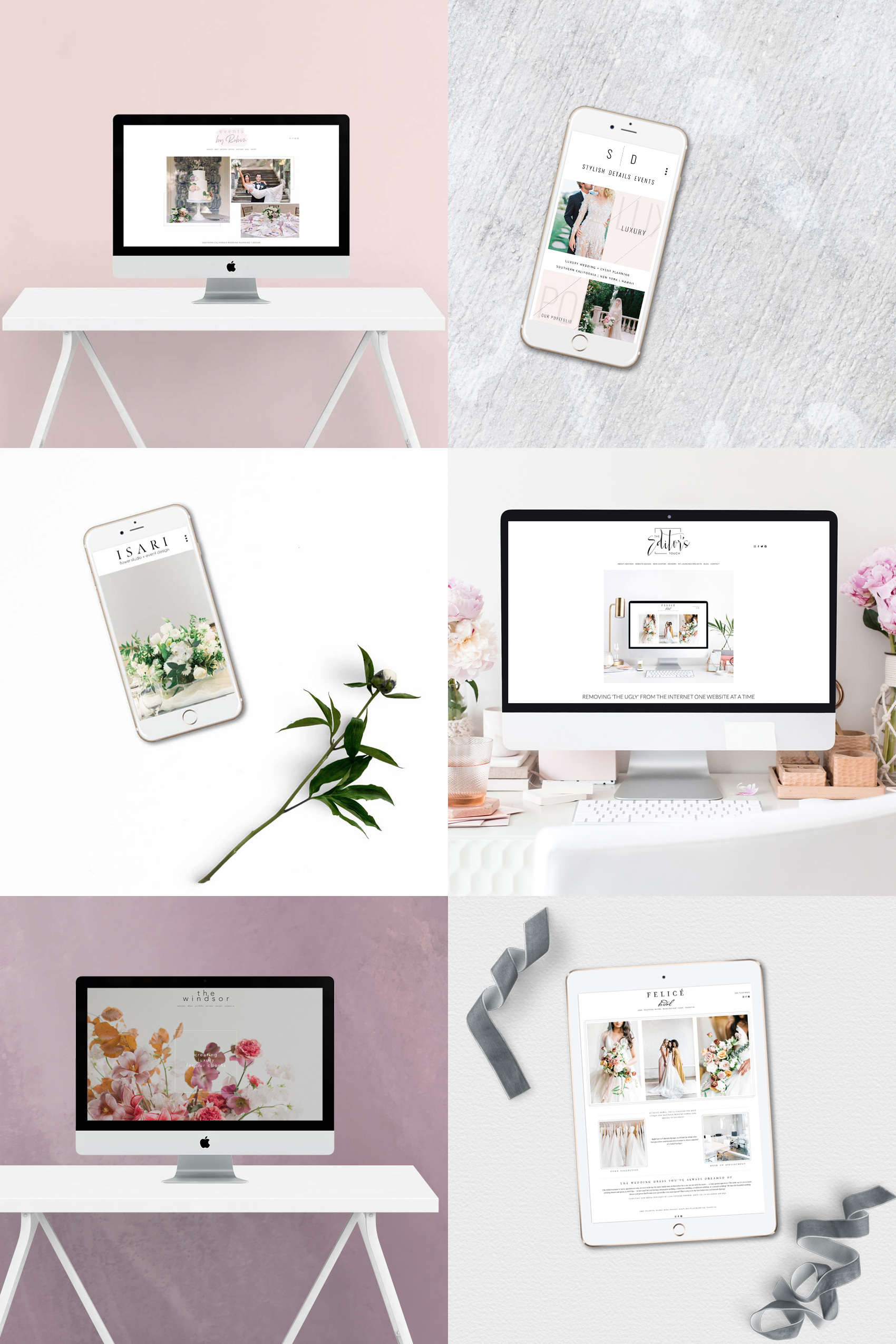 Squarespace Website Designer for Creative Professionals and Wedding Industry Business Owners | The Editor's Touch
