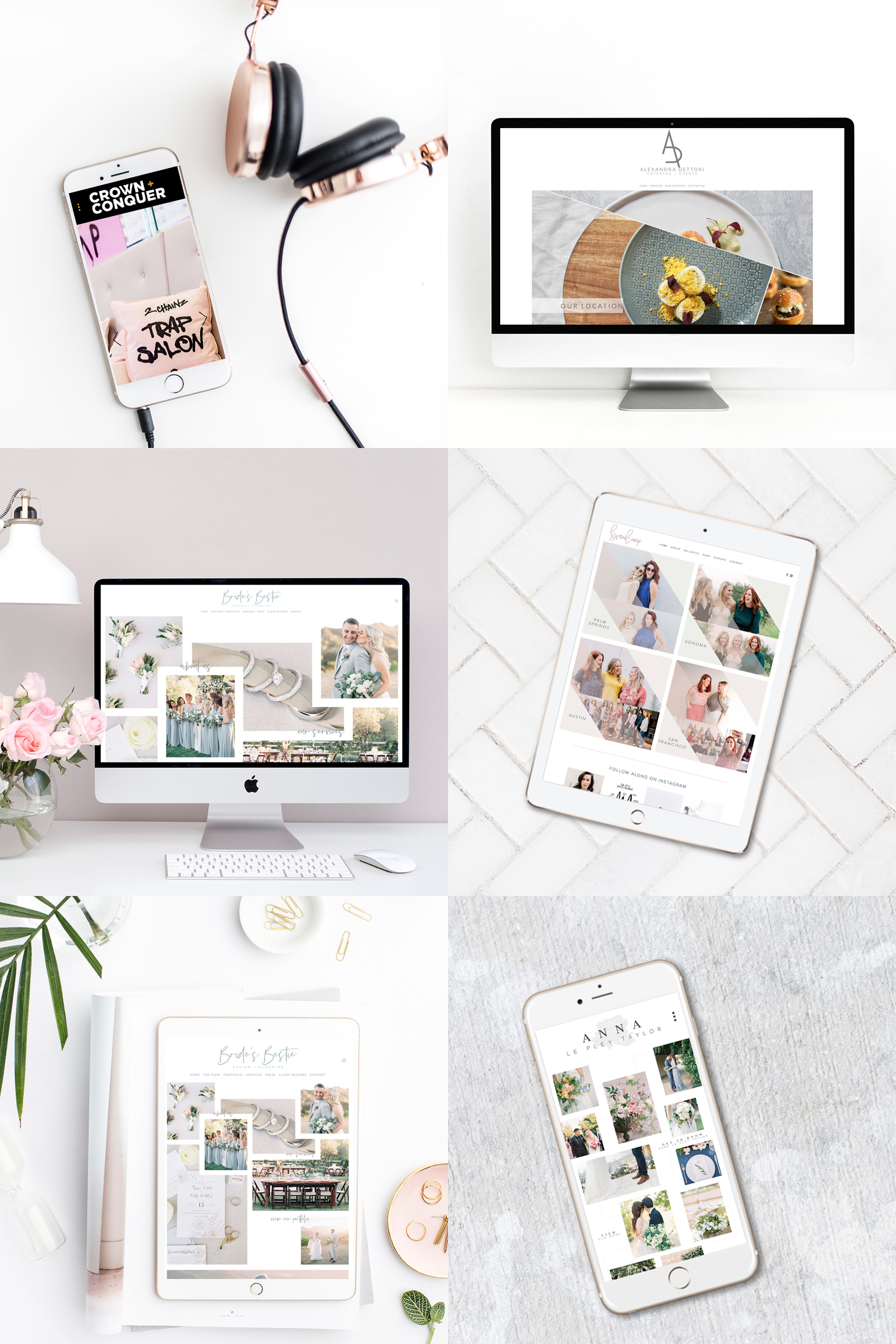 The Editor's Touch | Website Designer | Squarespace Web Design | Wedding Industry Experts