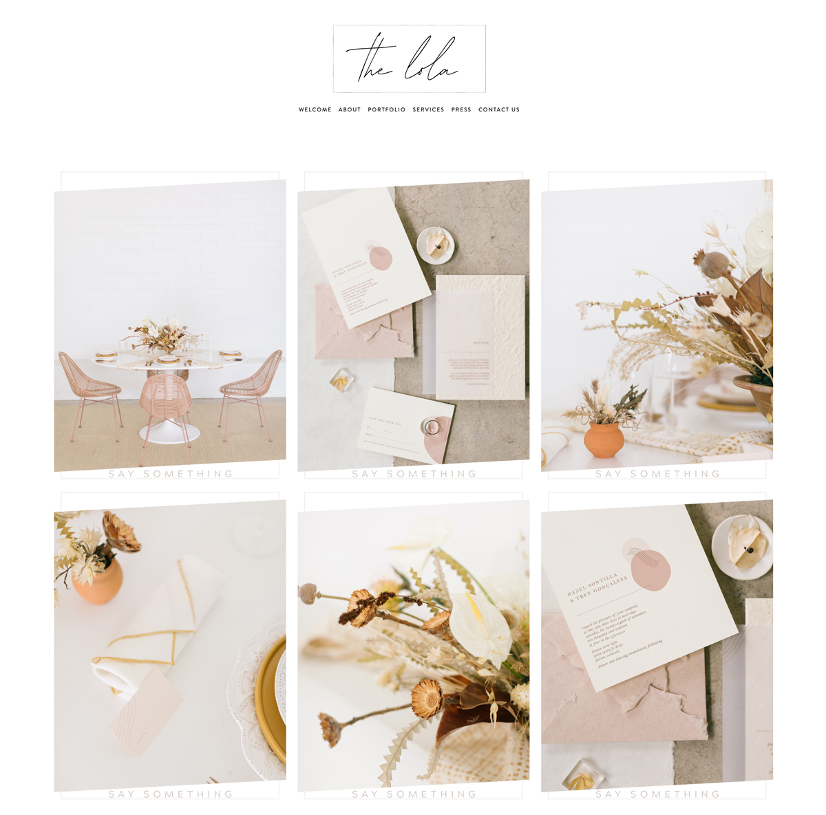 Exclusive Squarespace Design Templates | Website Designer The Editor's Touch | The Lola