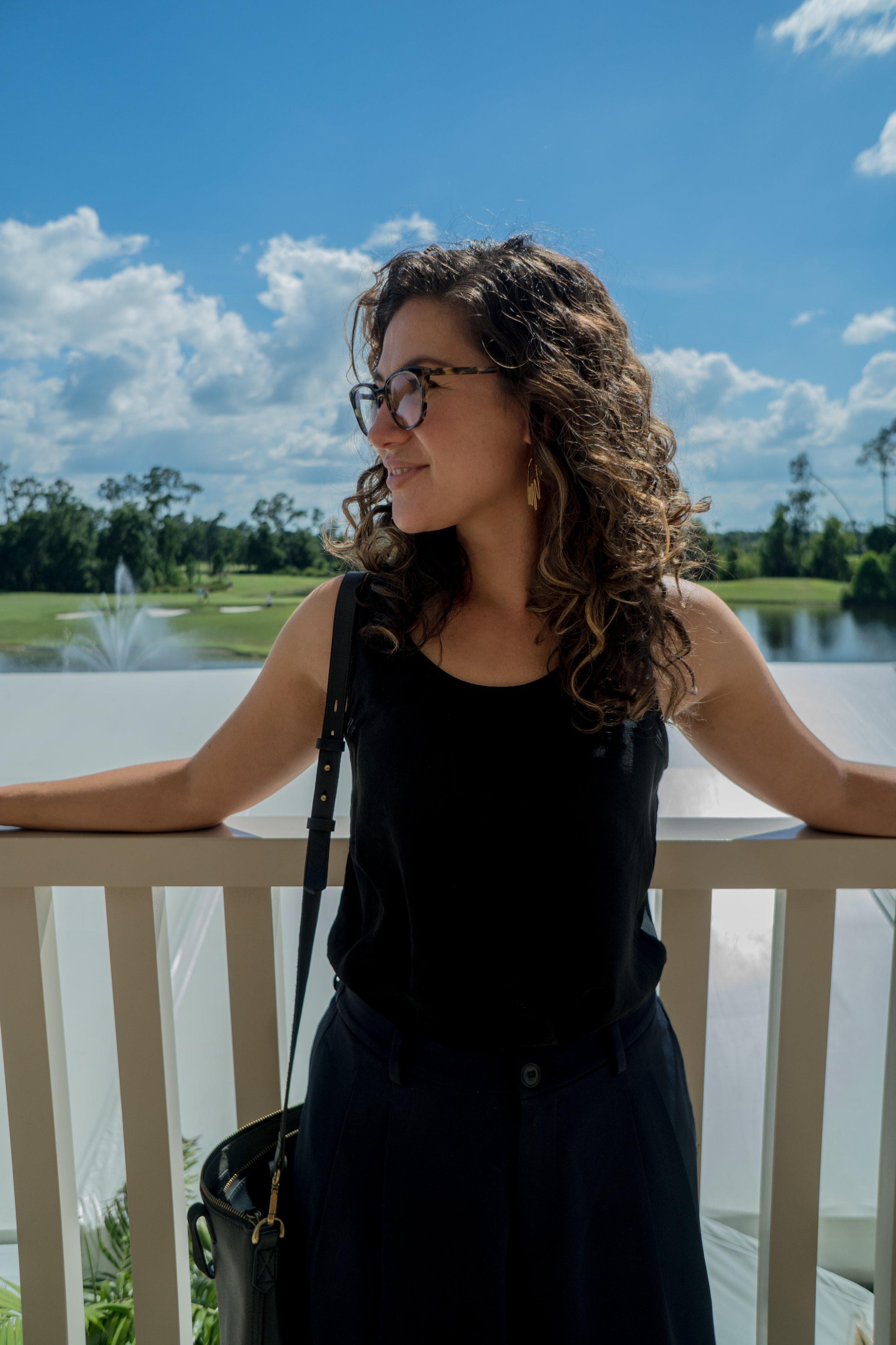 Cristina Cleveland photographed by Hallease Narvaez @ #BlogHer17