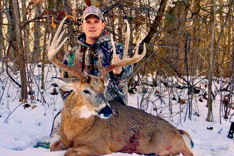 """Damian Riffle  """"I'm a Small Business Owner and Construction Project Coordinator for a large Corporation in East Central Ohio. Ive been hunting my entire life and started targeting specific bucks in the early 2000s with 100% success since 2007.  I also love to get out and travel to experience hunting other animals around the Country."""""""