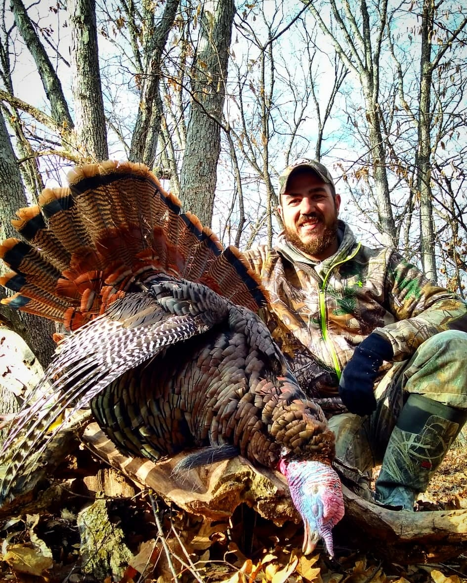 """Clayton Meyer  """"I'm a lawn maintenance supervisor for a lawn and landscape company in central Iowa.  My addiction for hunting started at the age of 9 and I have never looked back. Whitetails are my number one passion but I love a good ol' spring time turkey hunt. I am a public land hunter who likes the challenge of adjusting to pressure and putting in work to find those great areas.  If I'm not out hunting I'm usually out on the water fishing for bass or some sort of panfish."""""""