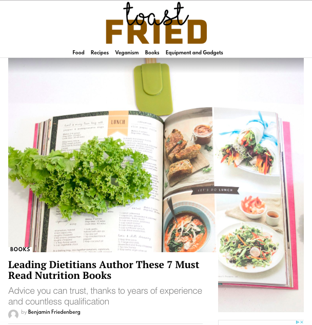 Toast Fried   Leading Dietitians Author These 7 Must Read Nutrition Books  #1  Nourish Your Tribe by Nicole Magryta RDN    Oct 2019