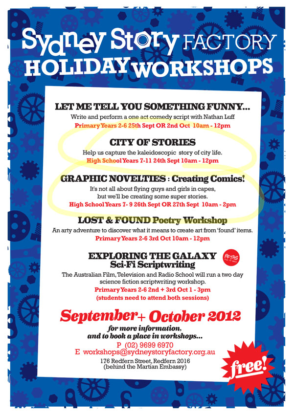workshops poster portrait holidays sept 2012 20120917