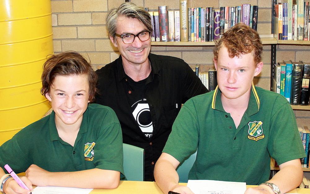 Brock Radburn, Richard Short, Nickolas Morrison, grade 8.JPG