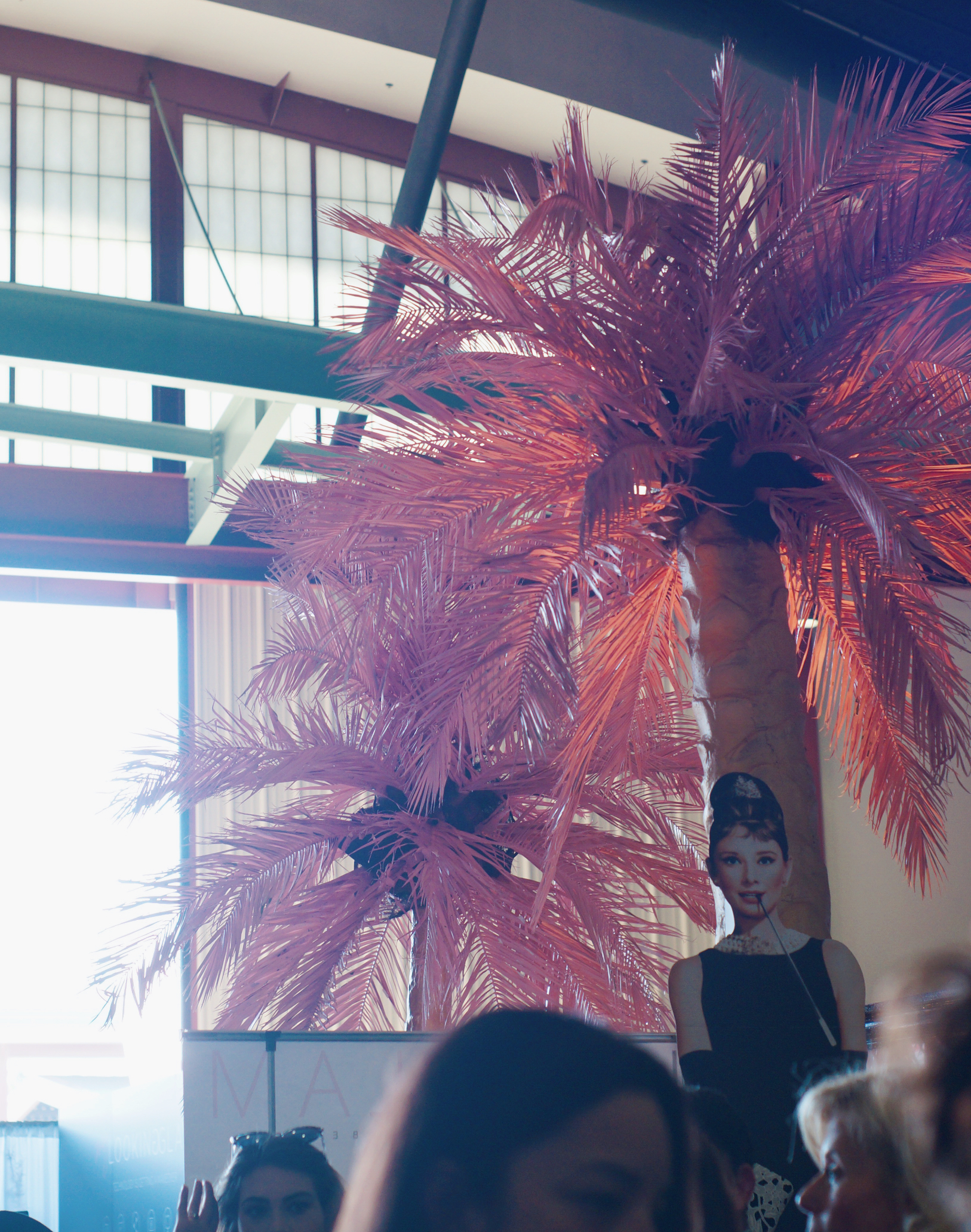 Surf Glam's epic pink palm trees