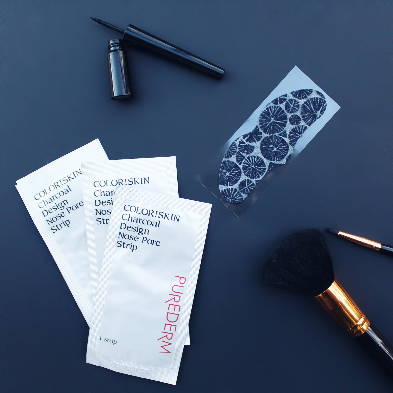 Nose Pore Strips from my Deep Detox Beauty Box