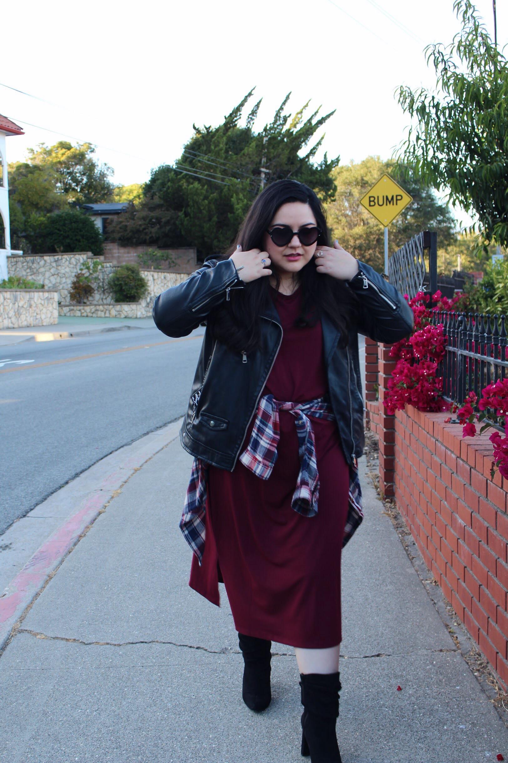 fall fashion look in san luis obispo