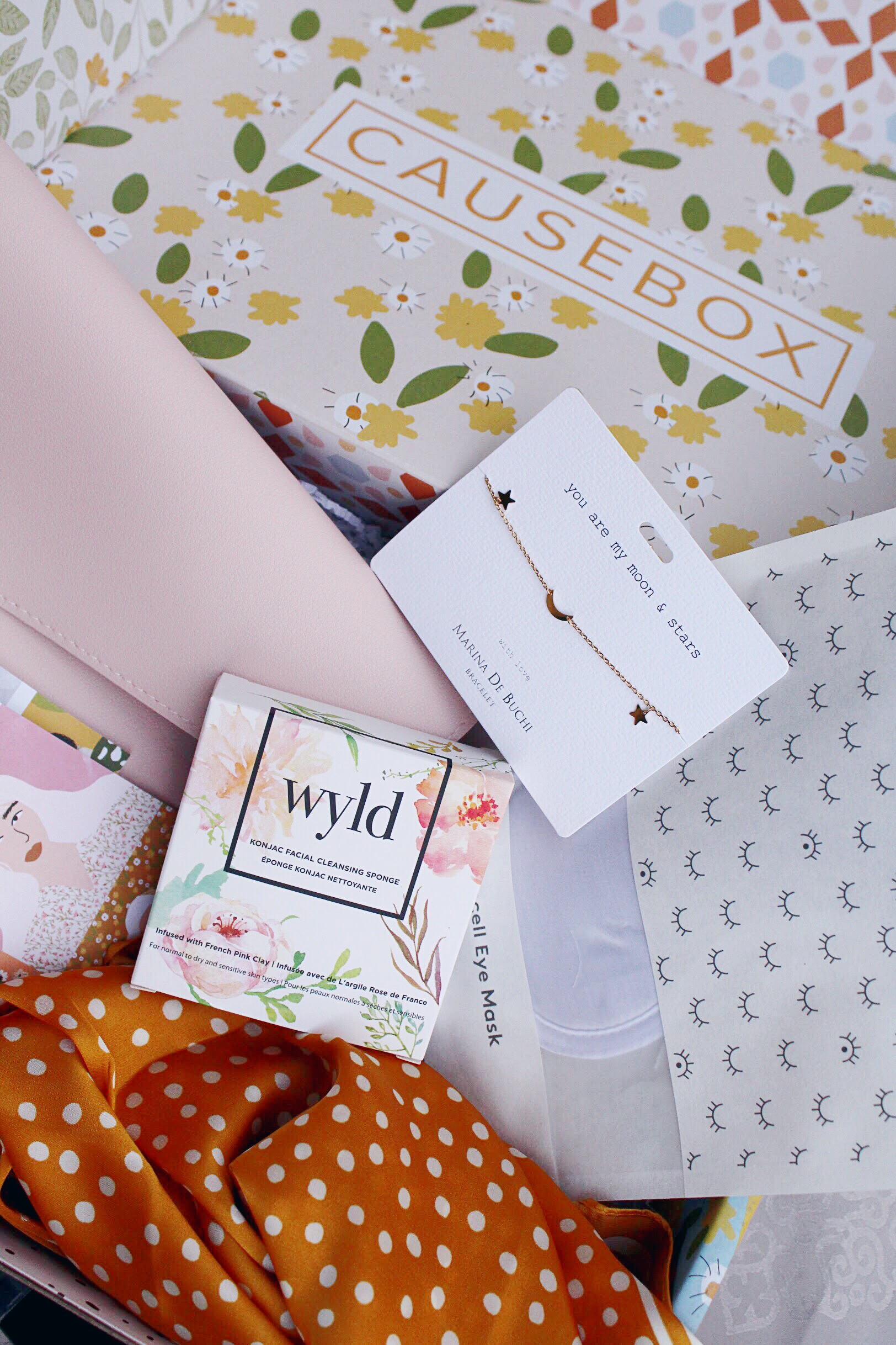 Spring CauseBox Beauty, Skincare and Accessories