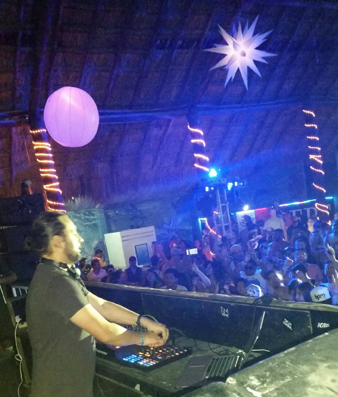 We were behind the decks for Sharam's BPM Festival set.