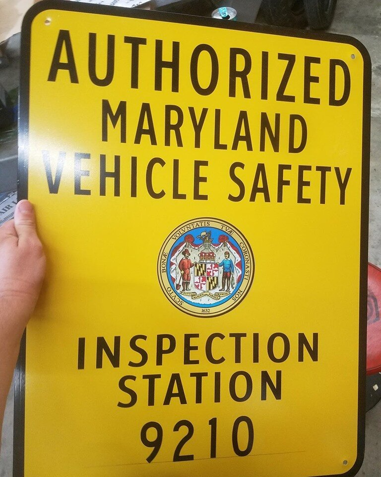 We are now an authorized Maryland State Inspection Station! - Call us today to setup your appointment(443) 291-3030