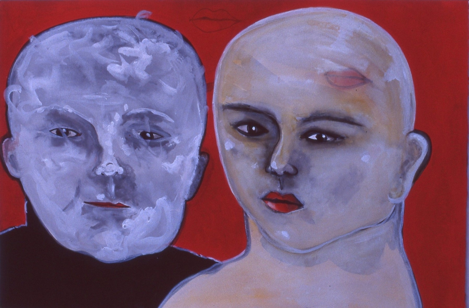 "Two Heads  12""x20"""