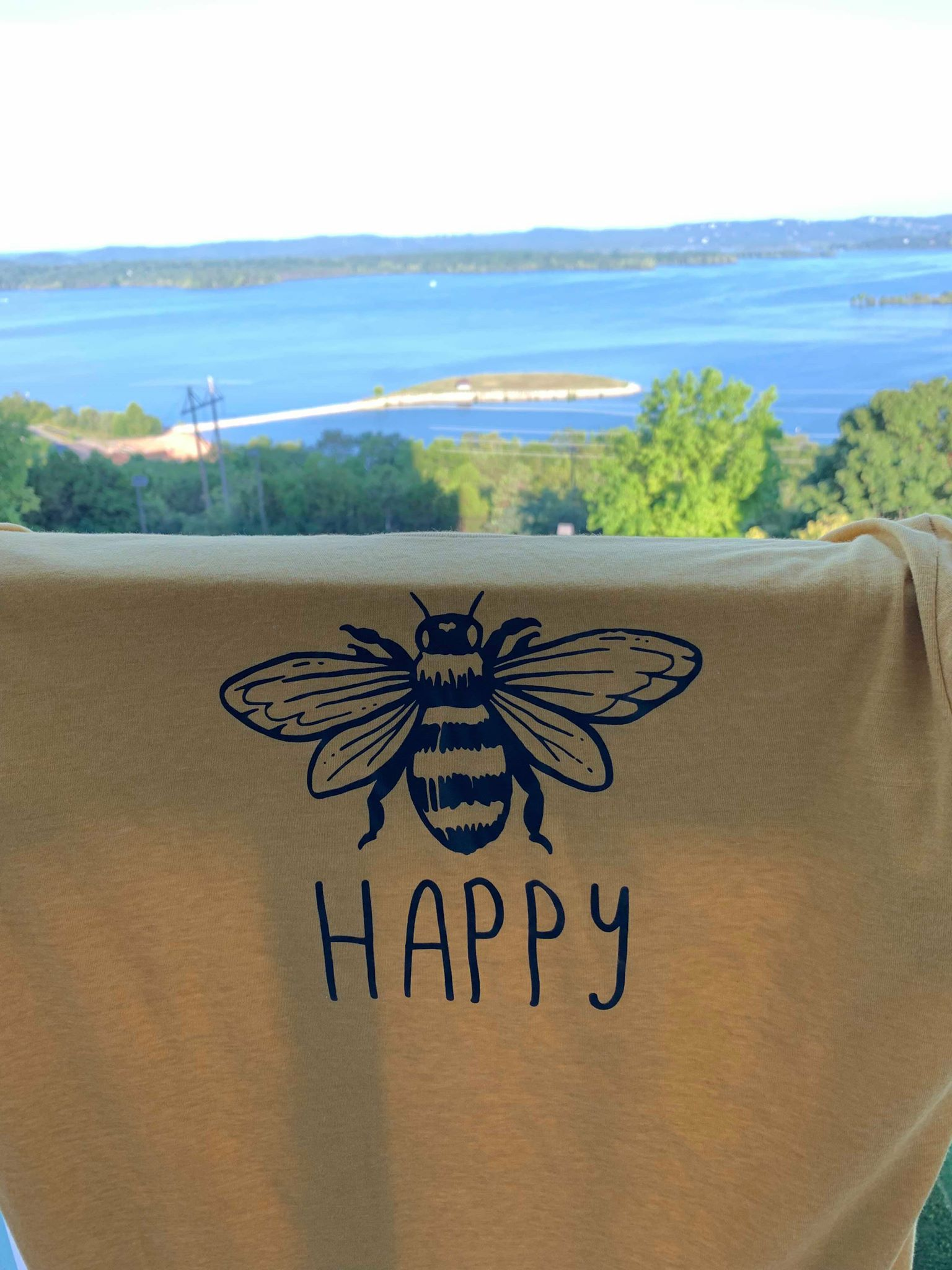 Pick a place that makes you feel safe and happy! -