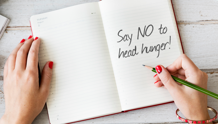 Slender Herbal Support Spray helps to control head hunger - the emotional eating, between meal snacks and cravings that make us think we are hungry.