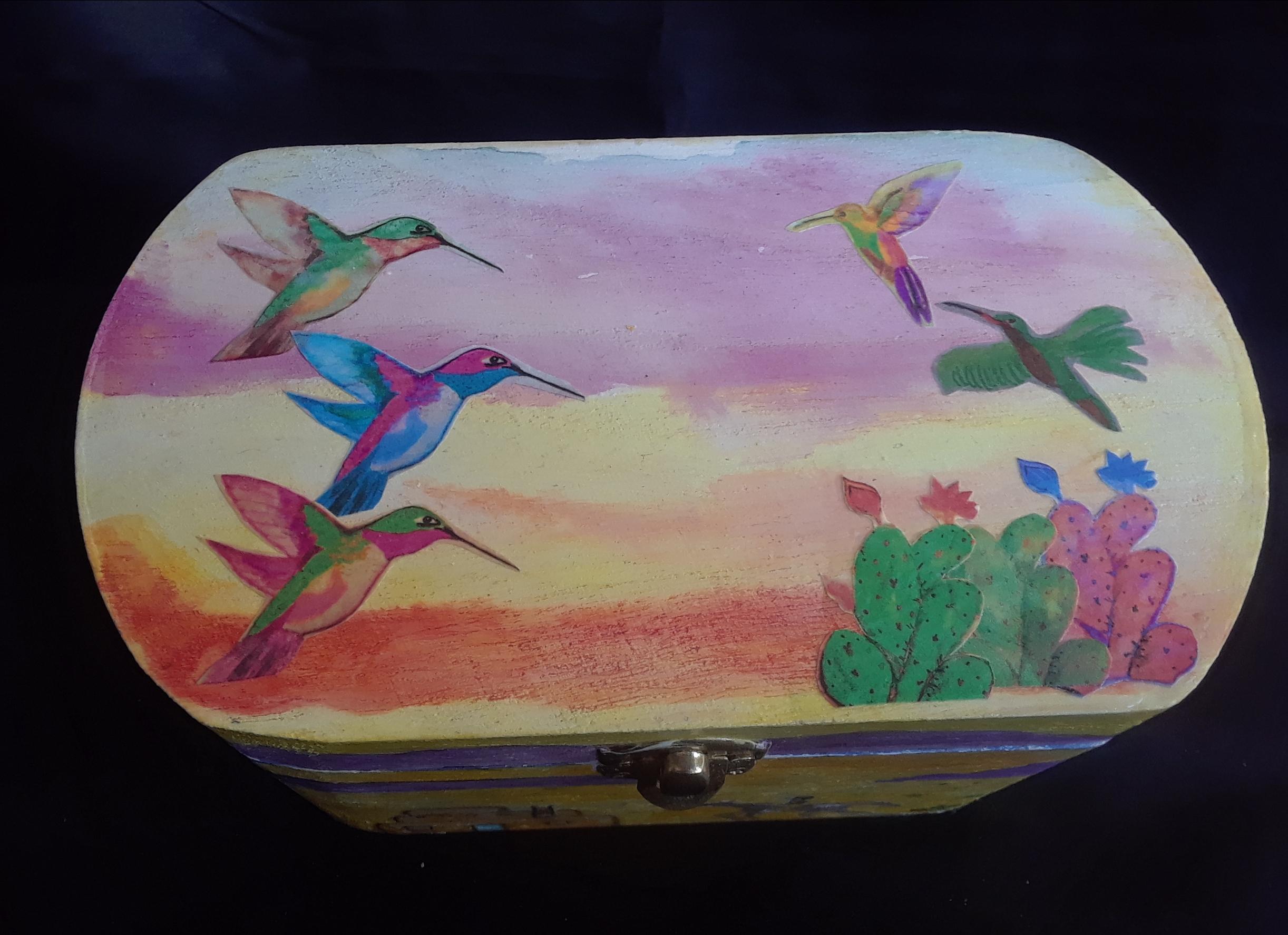 5 birds, pastel sky, Taos 2018.jpg