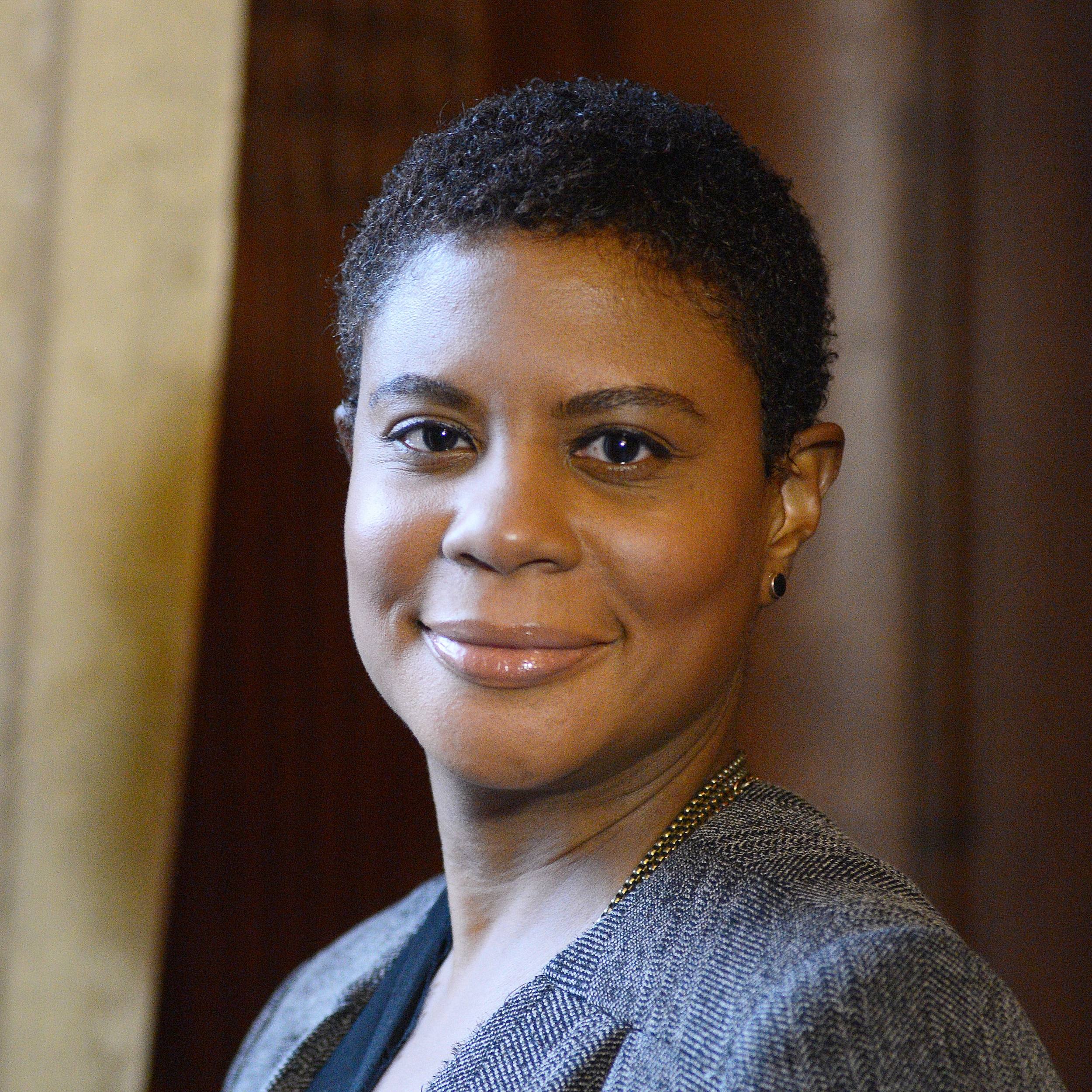 Alondra Nelson - Alondra Nelson, Ph.D., is president of the Social Science Research Council and professor of sociology at Columbia University. An award-winning scholar of science, medicine, and social inequality, her recent books include The Social Life of DNA: Race, Reparations, and Reconciliation after the Genome, Genetics and the Unsettled Past: The Collision of DNA, Race, and History, and Body and Soul: The Black Panther Party and the Fight Against Medical Discrimination. Alondra has contributed to national policy discussions on inequality, and about the social implications of new technologies, including artificial intelligence, big data, direct-to-consumer genetics, and human gene-editing. She serves on the Board of Directors of the Data & Society Research Institute. Alondra is chair of the American Sociological Association Section on Science, Knowledge, and Technology and is an elected member of the Sociological Research Association.