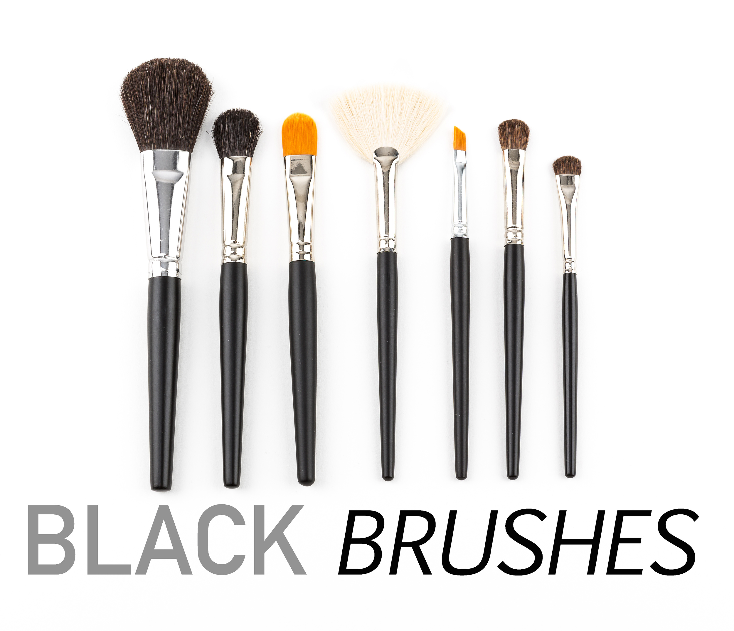 CLICK TO VIEW ALL BLACK BRUSHES