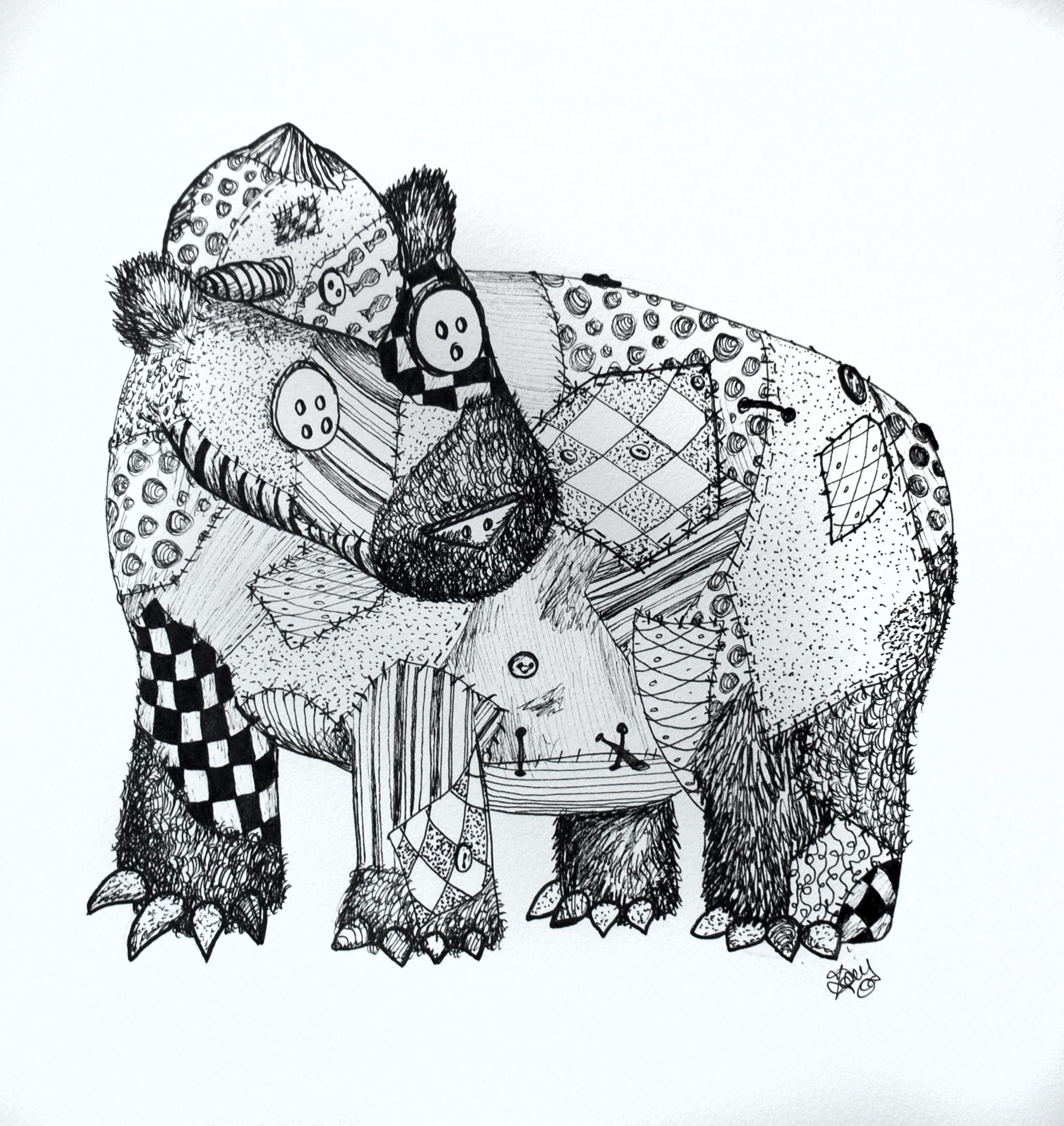 bear & fish