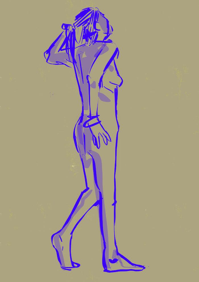 5 minute pose
