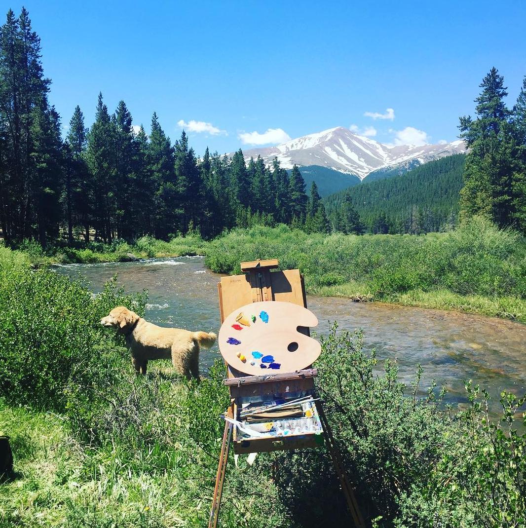 plein air painting mt elbert colorado leadville halfmoon creek.png