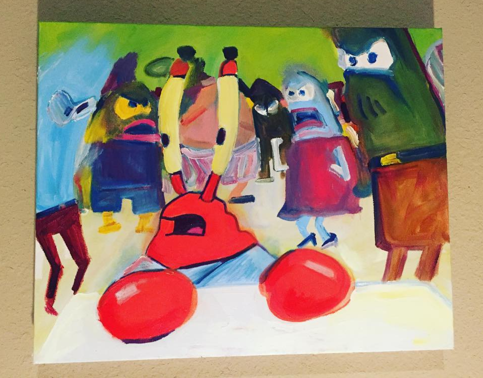 6 blurry mr krabs meme becky jewell painting.png