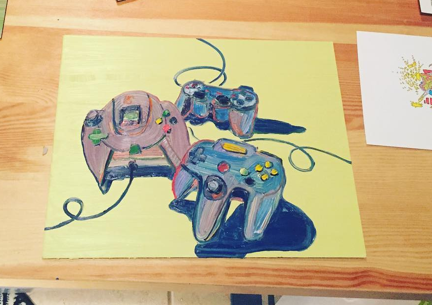 29 playstation painting becky jewell.png