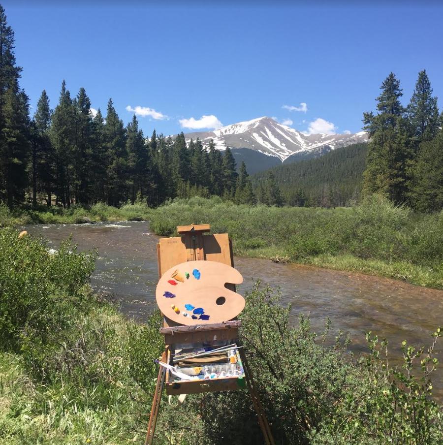Painting Mount Elbert