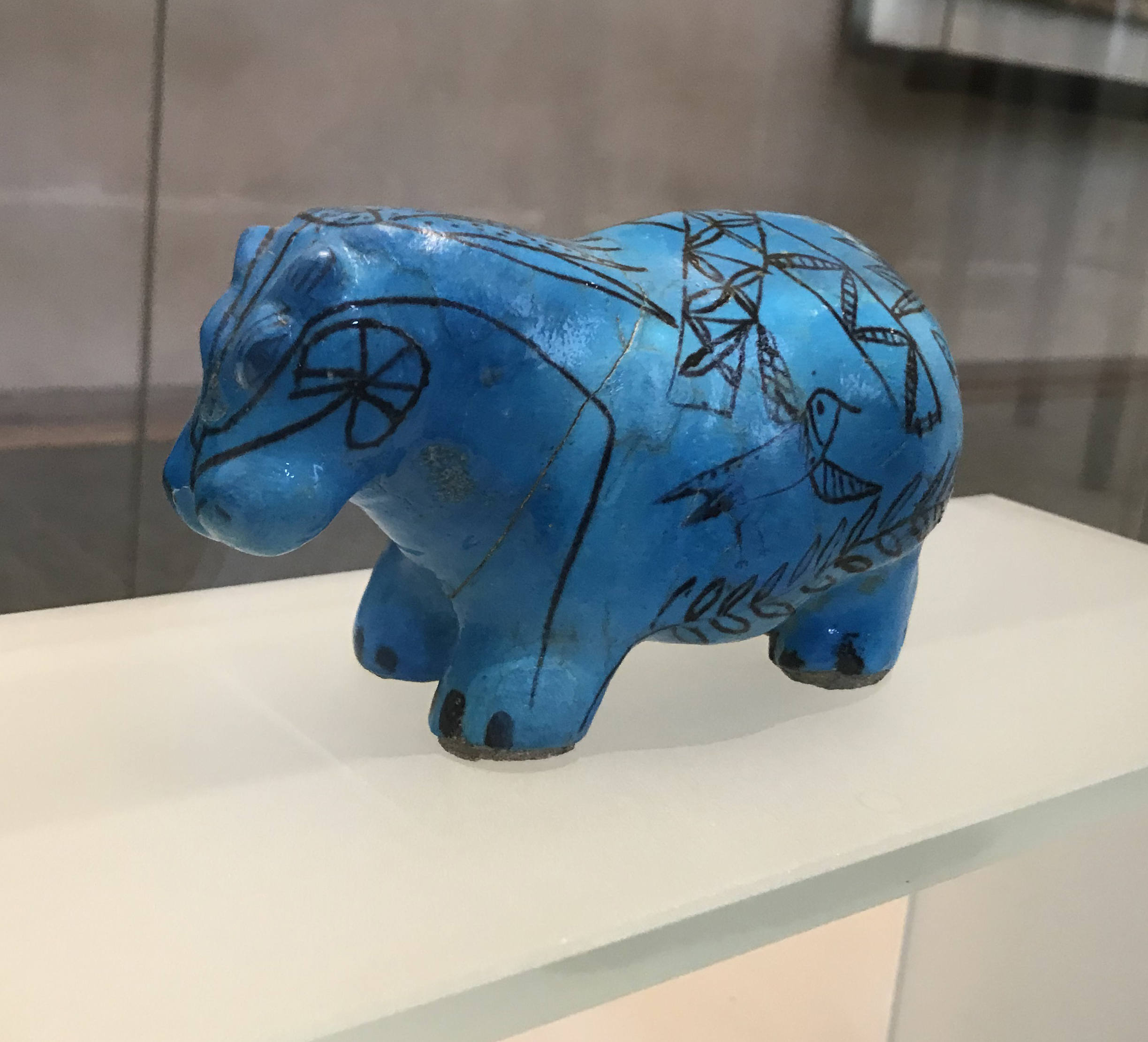 Louvre - Egypt - Blue Hippo.jpg
