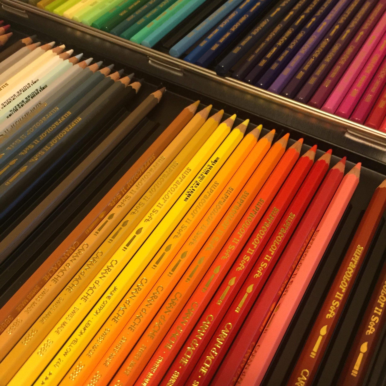 Caran D'Ache Supracolor Watercolor Pencils.JPG