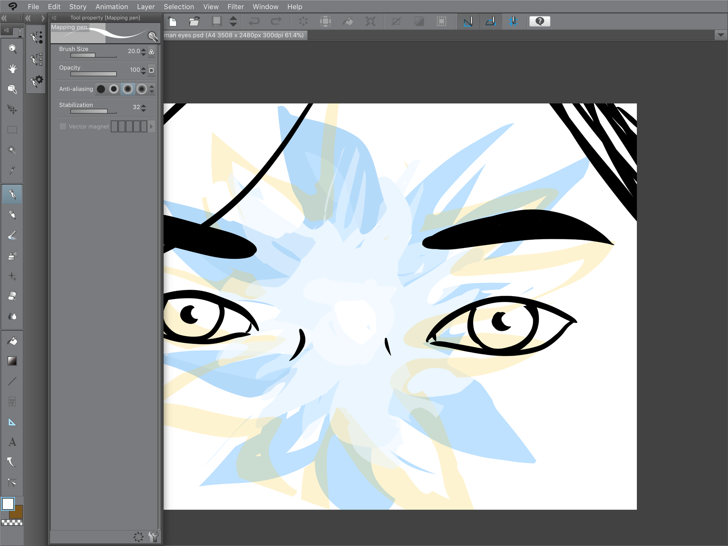 Clip Studio Paint iPad Pro - .PNG